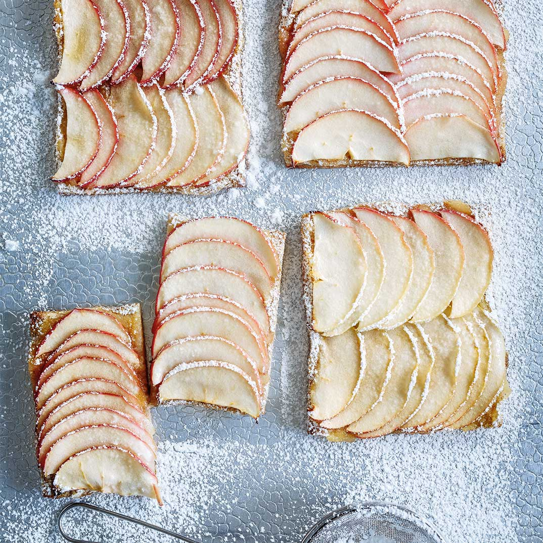 Baked Apple Toast
