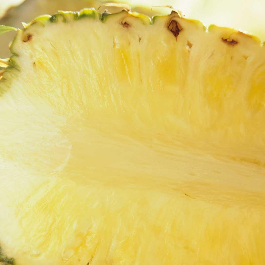 Baked Pineapple with Citrus Syrup