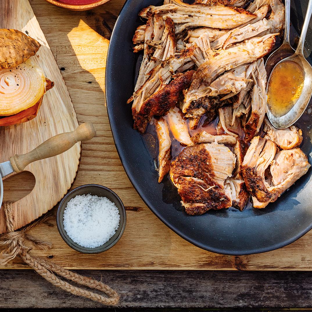 Barbecued Pork Shoulder