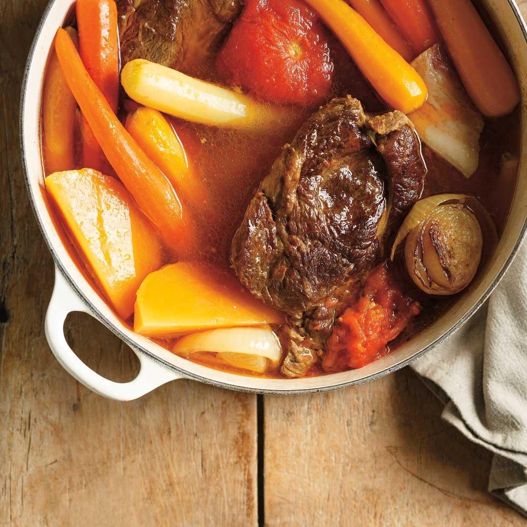 Beef and Tomato Pot-au-Feu