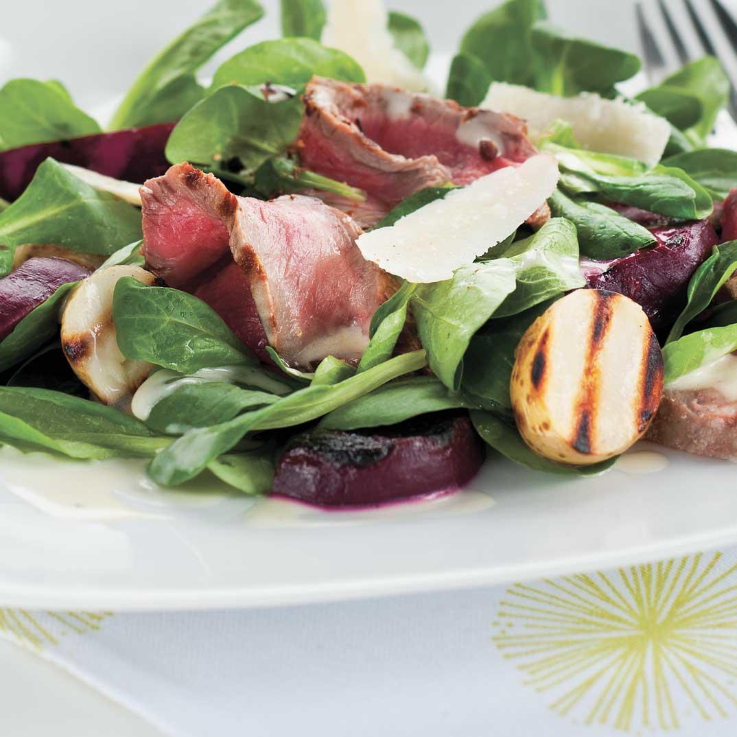 Beef, Beet and Potato Salad