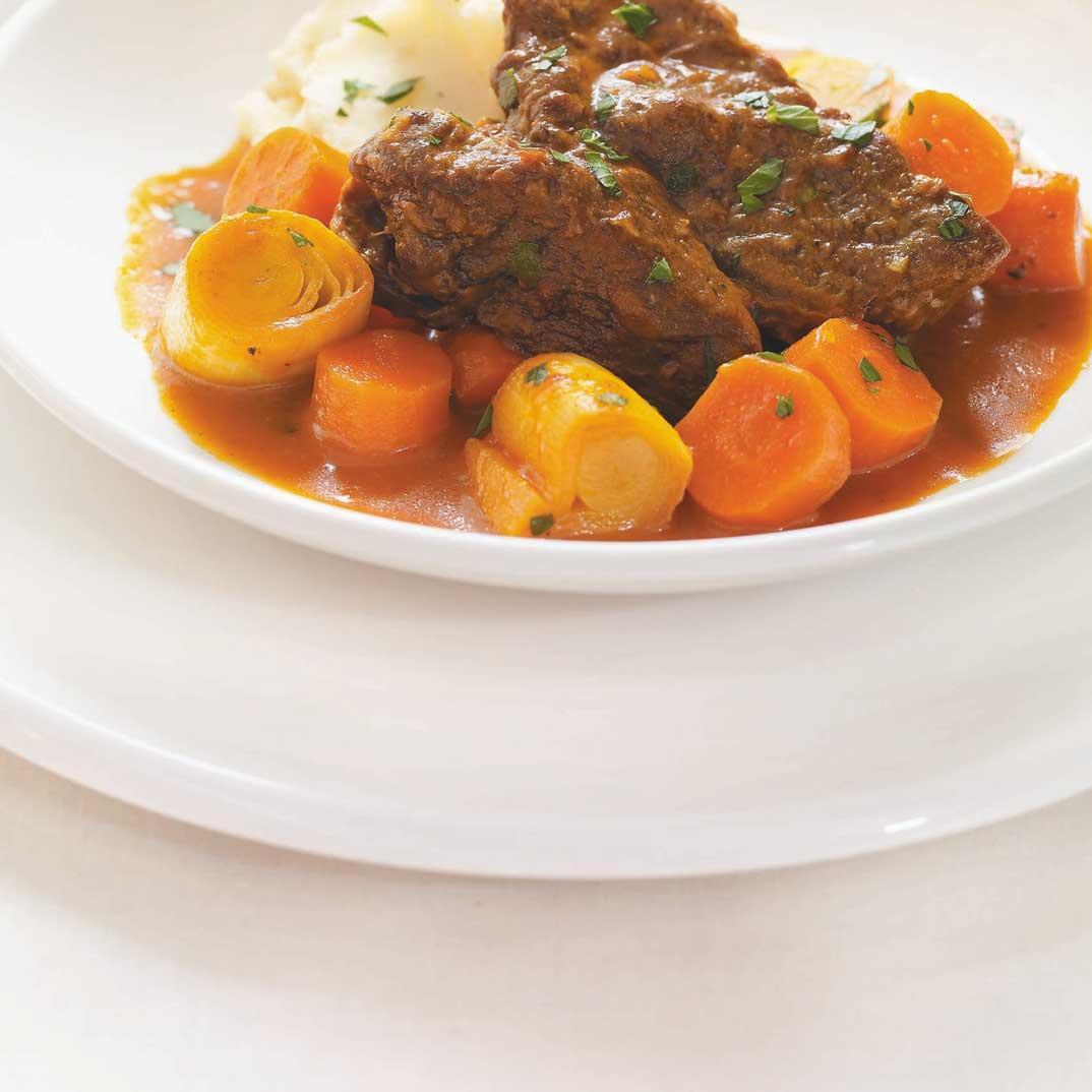 Beef Braised in Carrot Juice