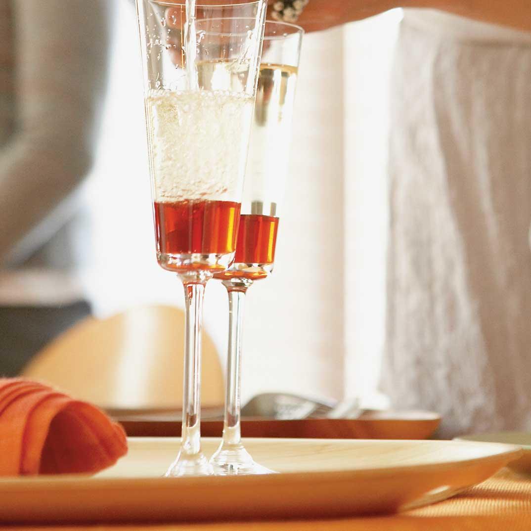 Blood Orange Kir