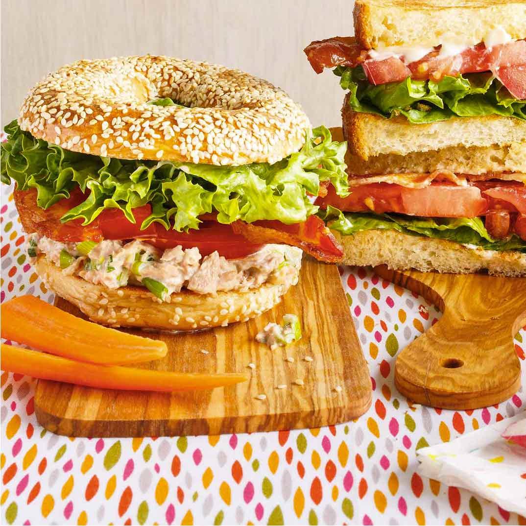 BLT Sandwich (Bacon-Lettuce-Tomato)