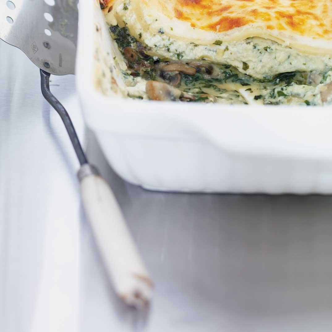 Blue Cheese Lasagna