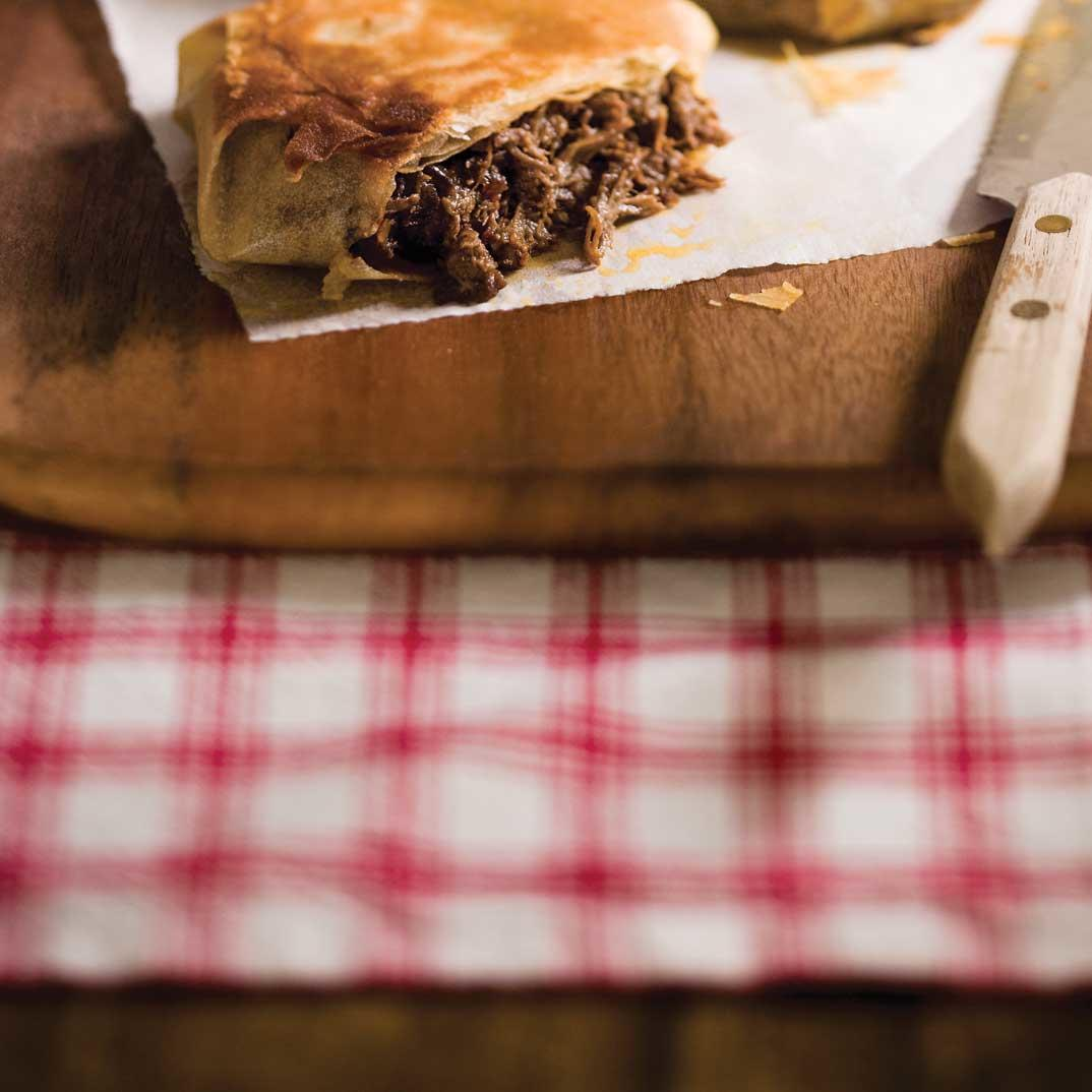 Braised Beef and Fig Pastilla