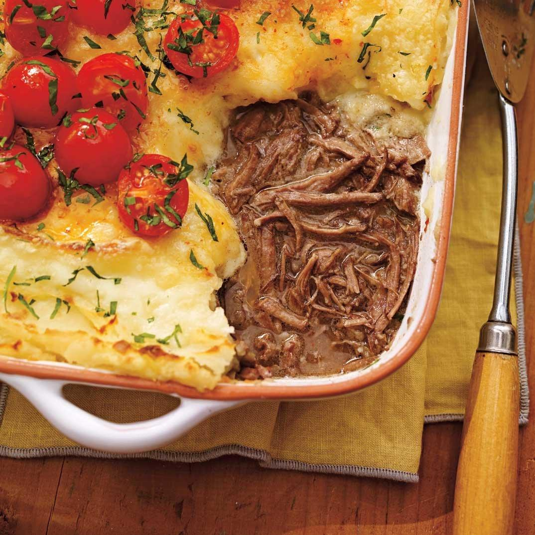 Braised Beef and Oka Cheese Sheperd's Pie