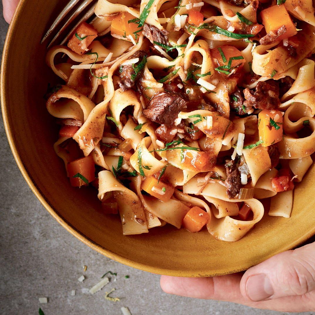 Braised Beef and Squash Pappardelle