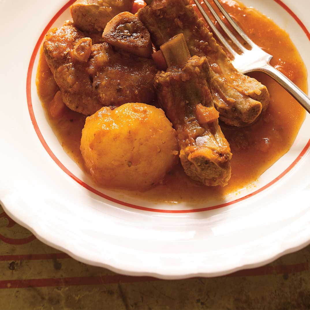 Braised Pork in Tomatoes