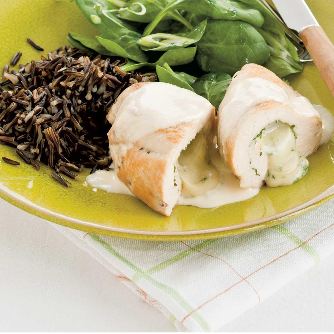 Brie-Stuffed Chicken Breasts