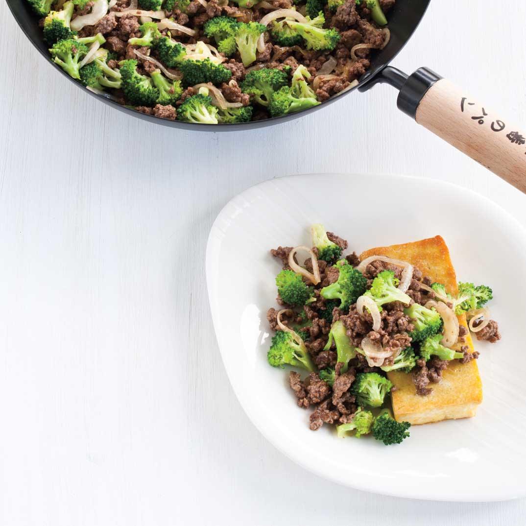 Broccoli, Beef, and Tofu Stir-Fry