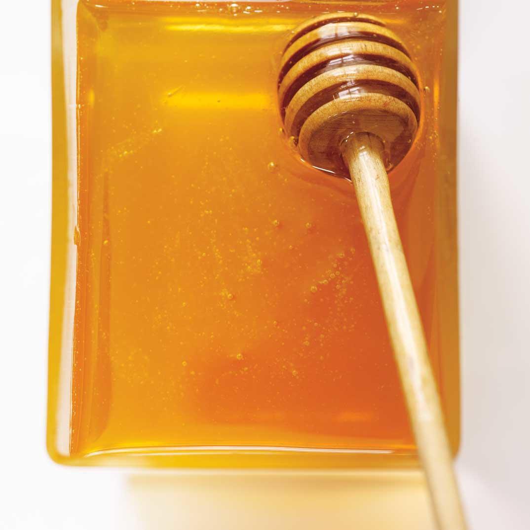 Buckwheat Honey-Glazed Veal Shank