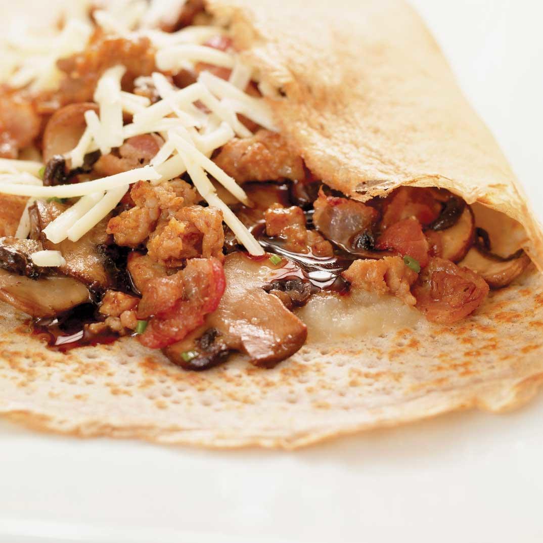 Buckwheat Pancake Burritos