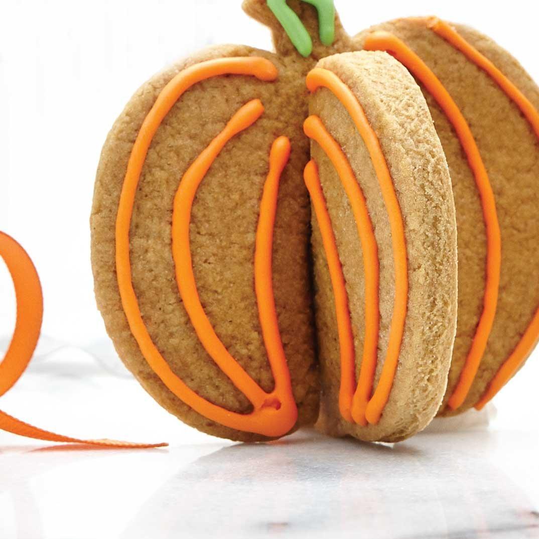 Butter Cookies (3D Pumpkin and Ghost)