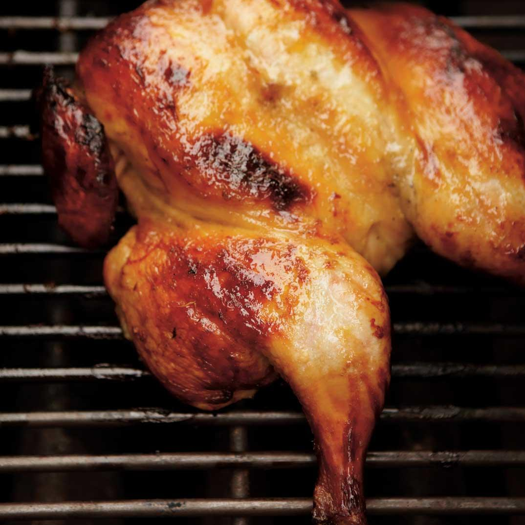 Butterflied Chicken with Honey and Citrus