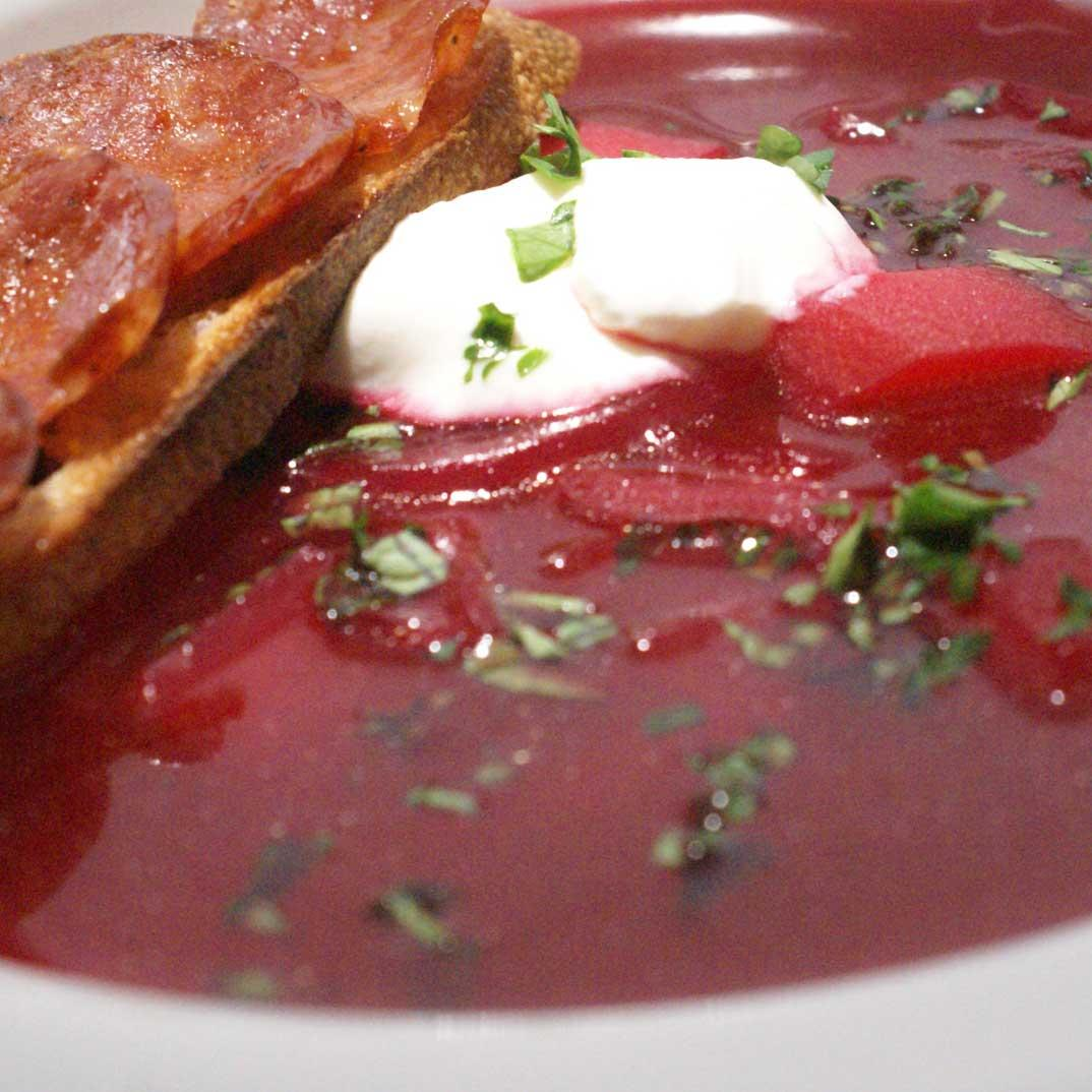 Cabbage and Beet Soup