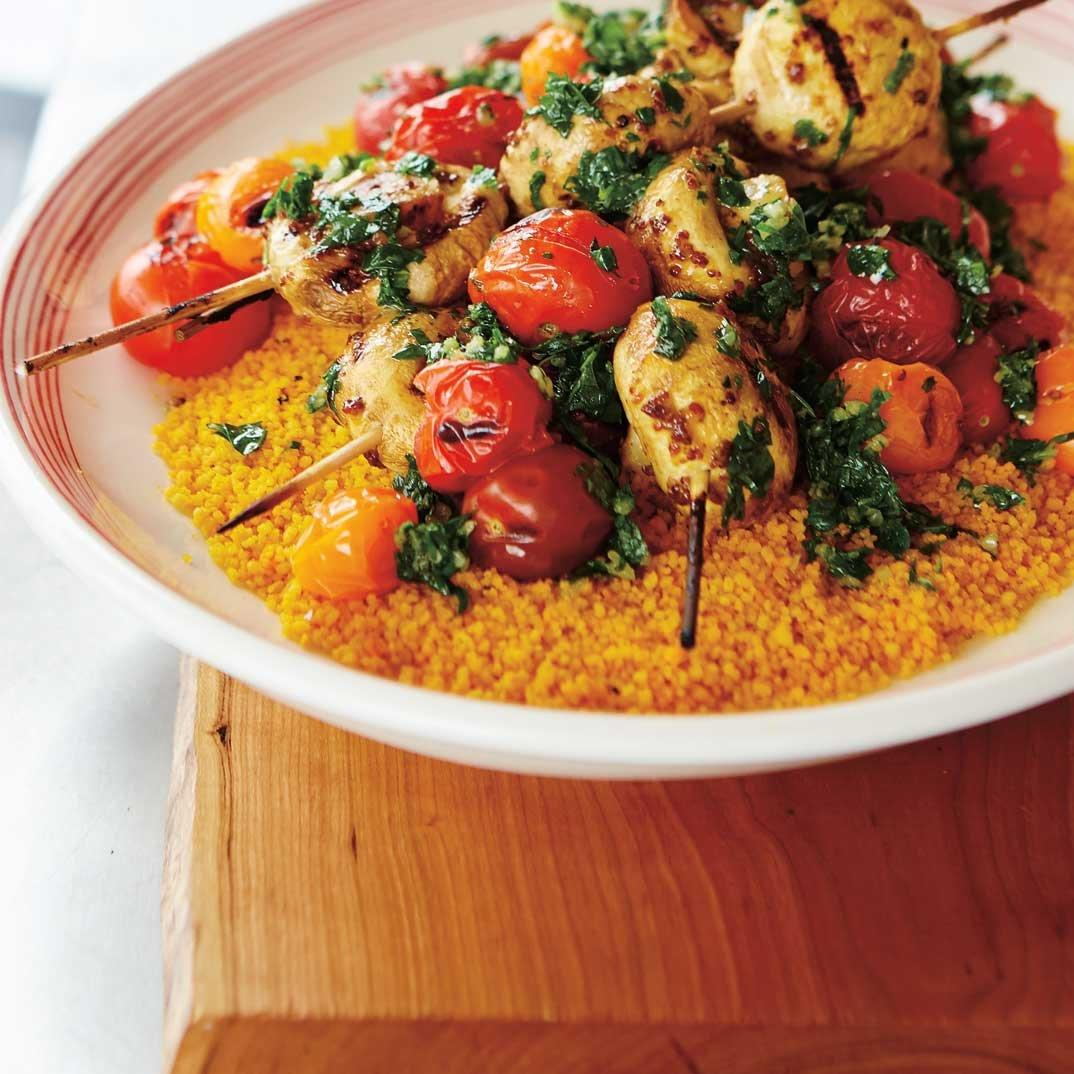 Carrot Juice Couscous