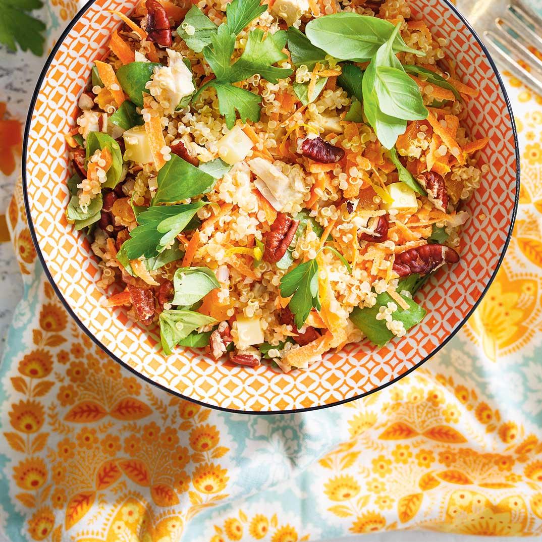 Chicken and Quinoa Salad Bowls