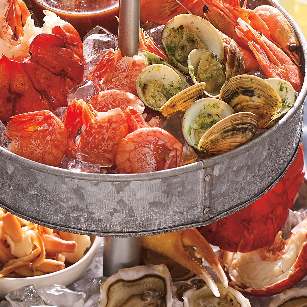 Chilled Clams with Herb Oil