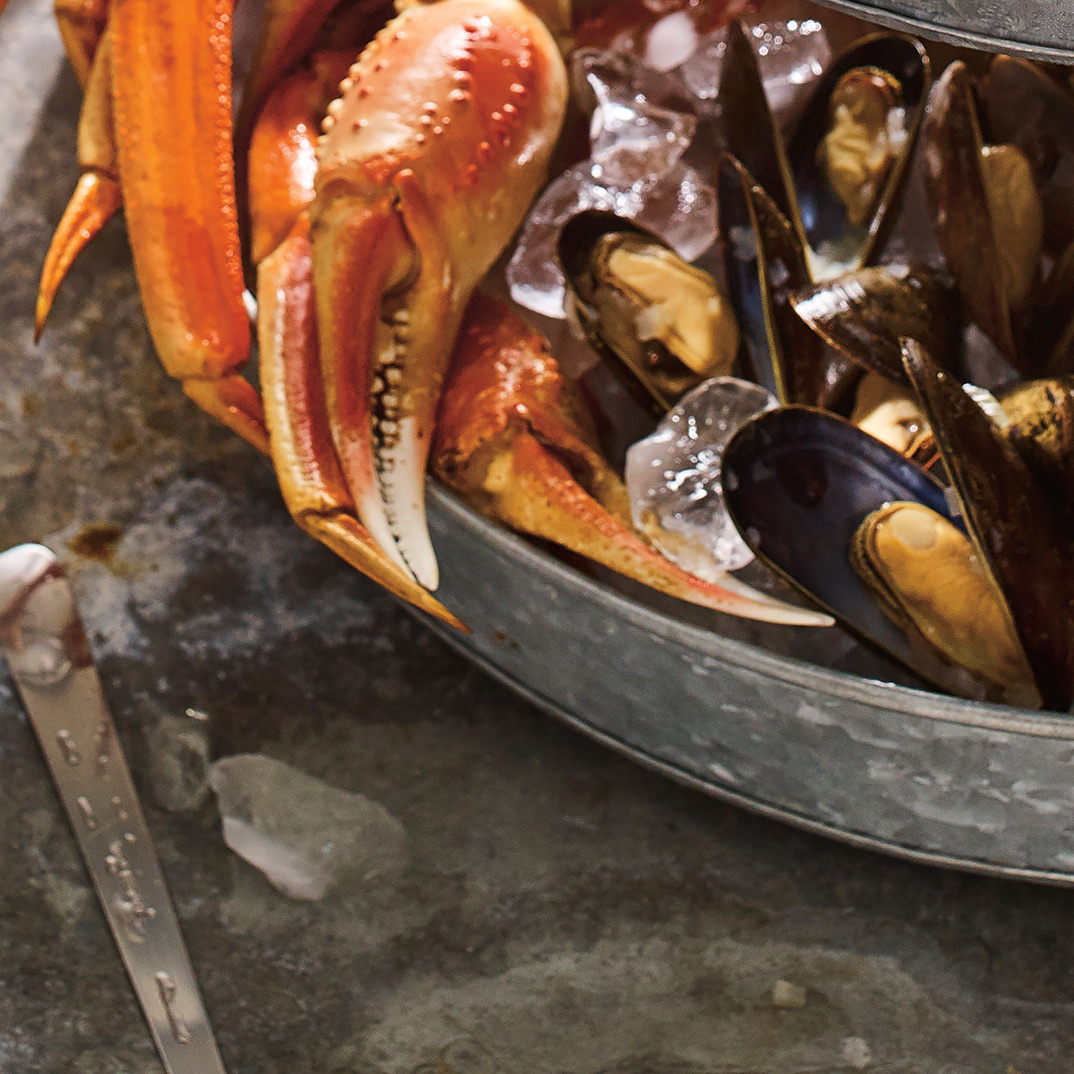 Chilled Mussels with White Wine