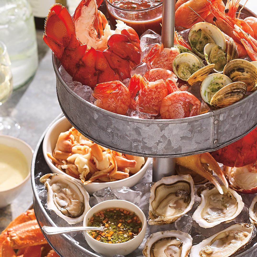 Coast-to-Coast Canadian Seafood Platter