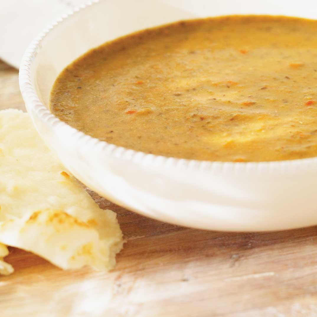 Cream of Lentil and Vegetable Soup