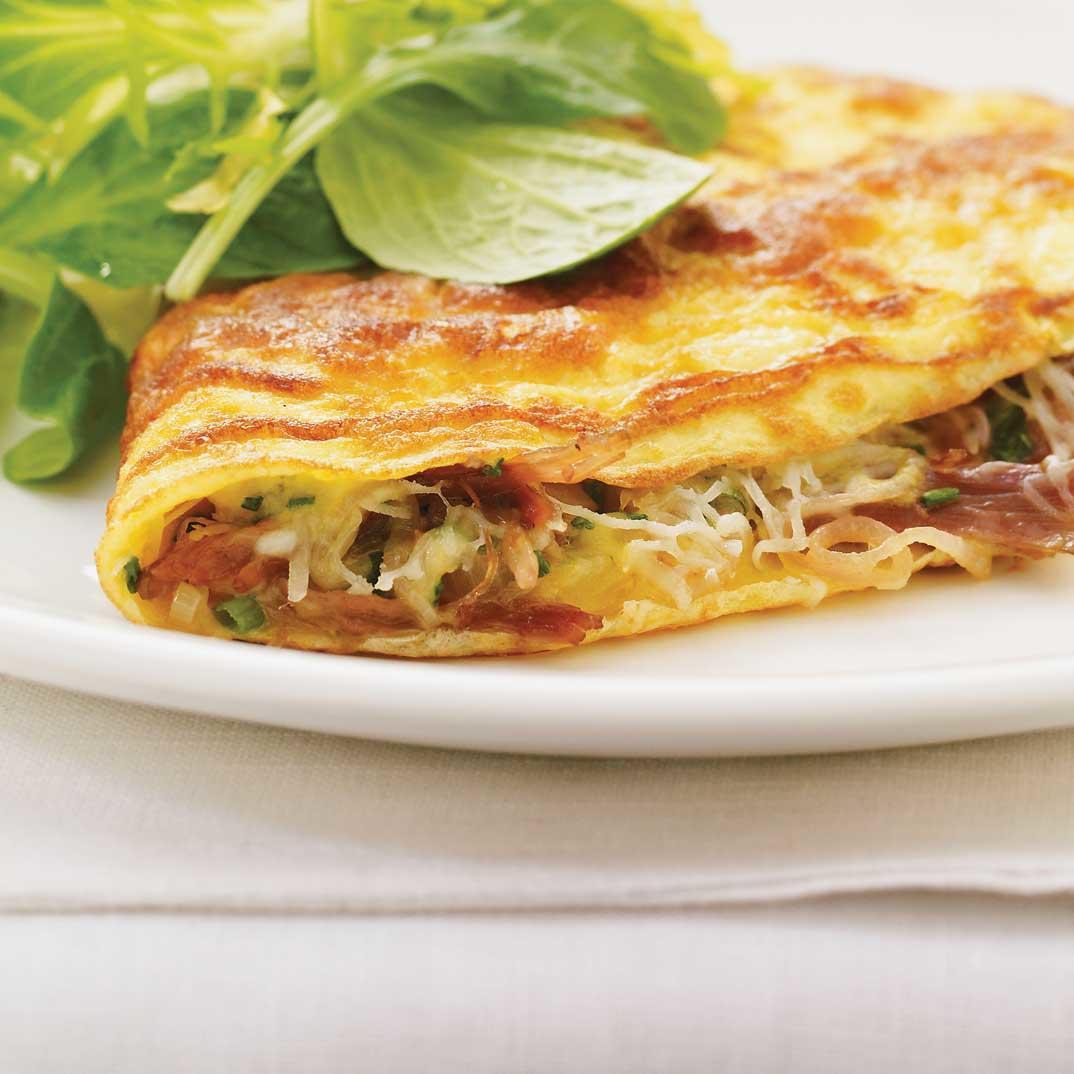 Duck Confit Omelet