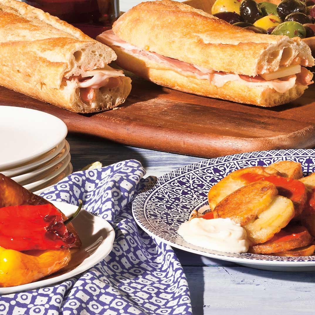 <i>Bocadillos</i> (Spanish-Style Sandwiches)