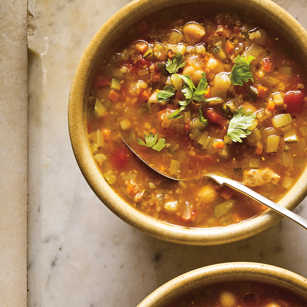 <i>Chorba</i> Soup with Bulgur