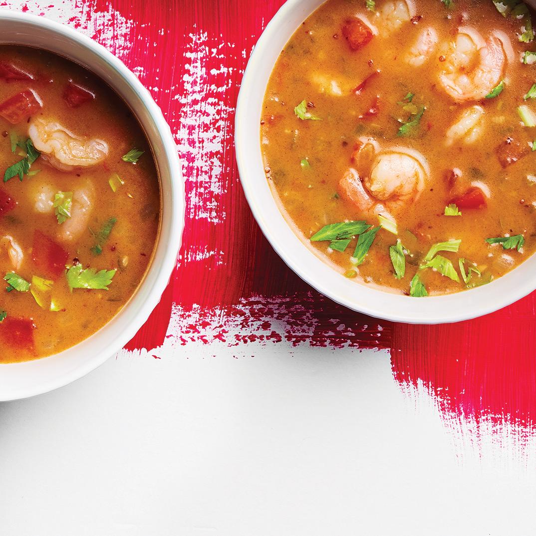Louisiana-Style Shrimp Soup